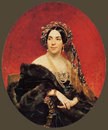 Karl Pavlovich Briullov - Princess M.P. Wolkonskaja