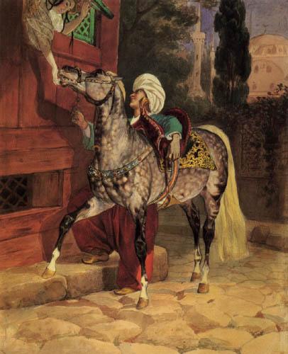 Karl Pavlovich Briullov - Stelldichein in Konstantinopel