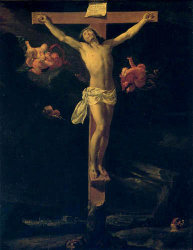 Charles le Brun - Crucified Christ