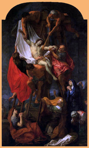 Charles le Brun - Kreuzabnahme