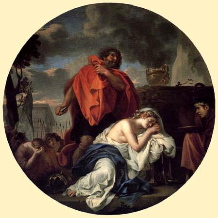 Charles le Brun - The Sacrifice of Jephthah