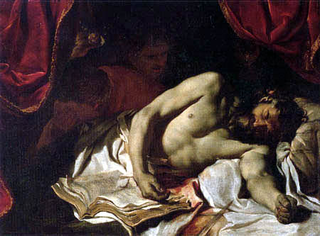 Charles le Brun - The death of Cato