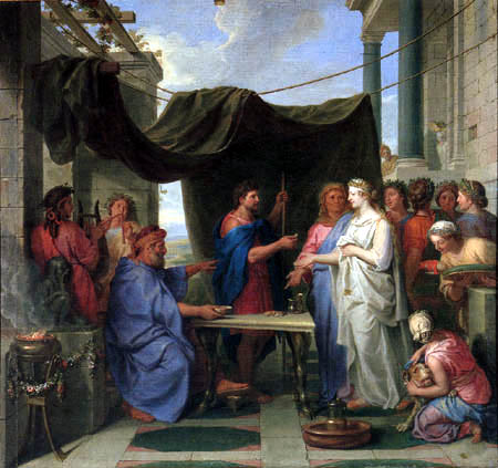 Charles le Brun - The marriage of Moses and Sephora