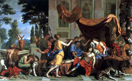 Charles le Brun - The death of Meleager