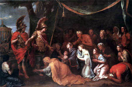 Charles le Brun - The queen of Persia before Alexander