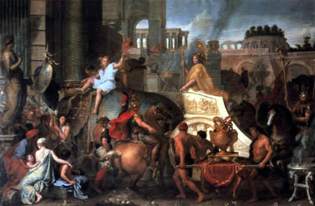 Charles le Brun - The triumph of Alexander