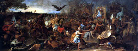 Charles le Brun - Battle of Arabella