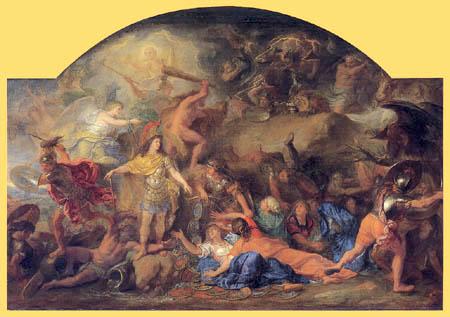 Charles le Brun - The Second Conquest of Franche-Comté