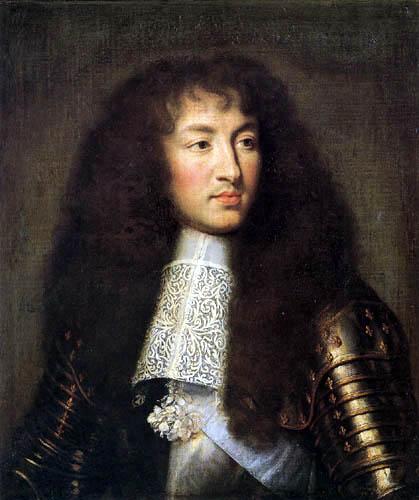 Charles le Brun - Portrait of Louis XIV