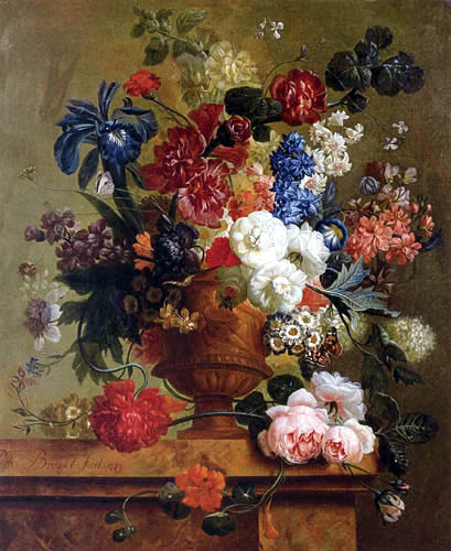 Paul Theodor van Brussel - Still Life with Flowers