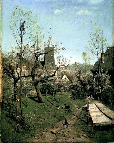 Karl Buchholz - Spring, Weimar