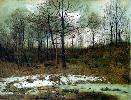 Karl Buchholz - Letzter Schnee
