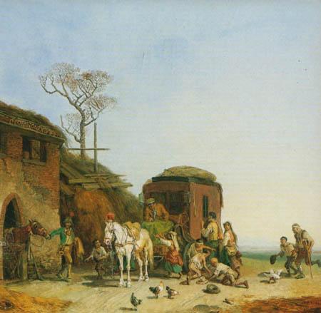 Heinrich Buerkel - Stagecoach