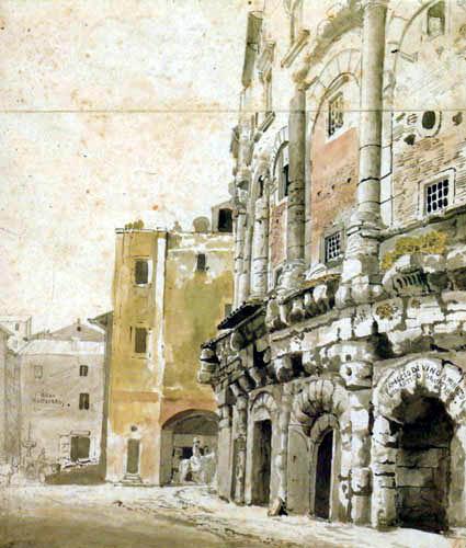 Heinrich Buerkel - Rome, Piazza Montenara