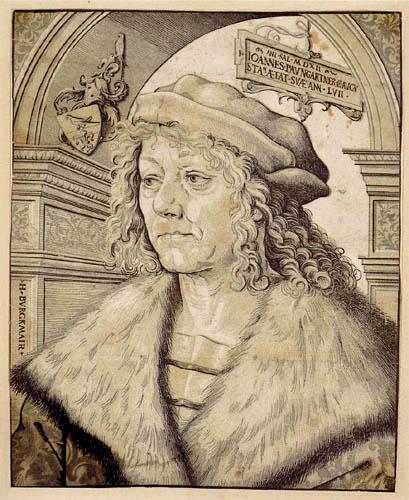 Hans Burgkmair the Elder - Portrait of Johannes Paumgartner