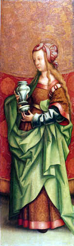 Hans Burgkmair the Elder - St. Magdalena