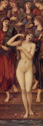 Sir Edward Burne-Jones - The bath of the Venus