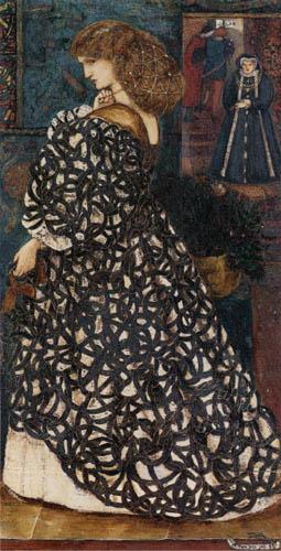 Sir Edward Burne-Jones - Sidonia von Bork