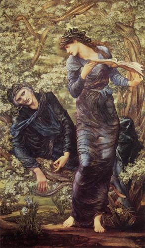Sir Edward Burne-Jones - El engaño del Merlín