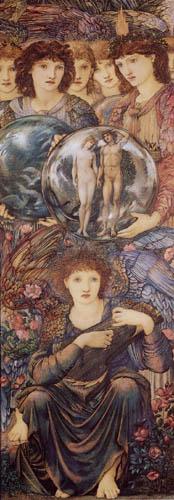 Sir Edward Burne-Jones - La creación del mundo - sexto día