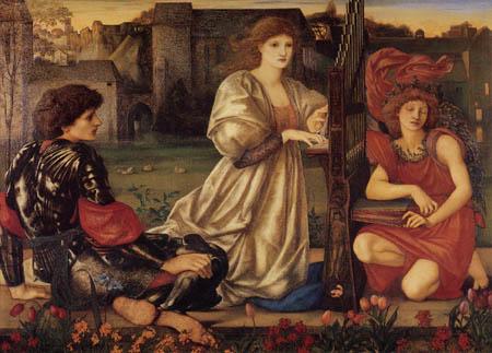 Sir Edward Burne-Jones - El cantar del amor