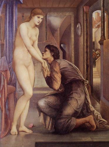 Sir Edward Burne-Jones - Pygmalion