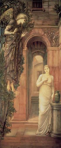 Sir Edward Burne-Jones - La Anunciación