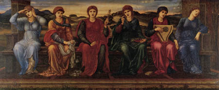 Sir Edward Burne-Jones - Las horas