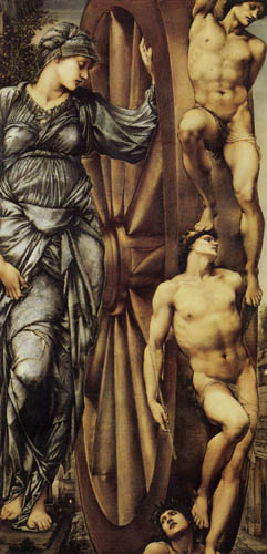 Sir Edward Burne-Jones - La rueda del sino