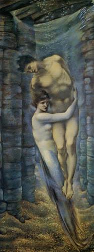 Sir Edward Burne-Jones - El fondo del lago