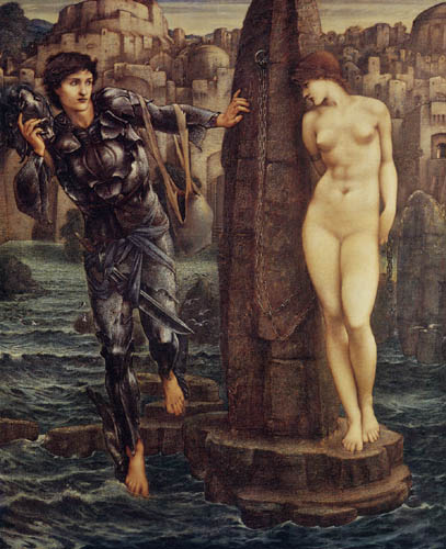 Sir Edward Burne-Jones - Roca del destino