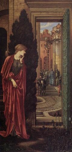 Sir Edward Burne-Jones - Danaë
