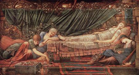 Sir Edward Burne-Jones - La princesa durmiente