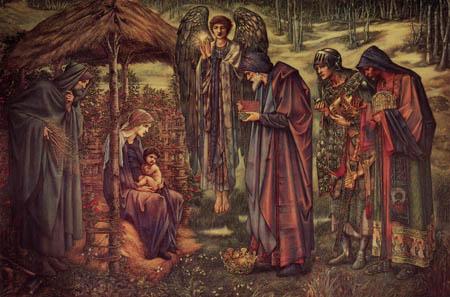 Sir Edward Burne-Jones - L'étoile des Bethléem