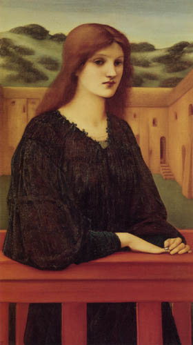 Sir Edward Burne-Jones - Vespertina Quies