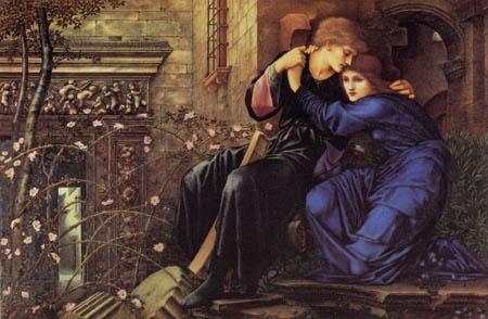 Sir Edward Burne-Jones - Love Among the Ruins