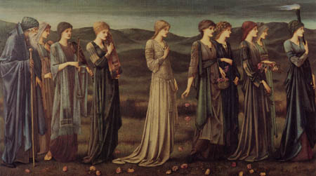 Sir Edward Burne-Jones - The Wedding of the Psyche