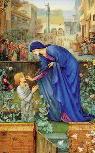 Sir Edward Burne-Jones - The Prioress´s Tale