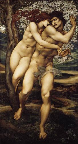 Sir Edward Burne-Jones - Tree of Forgiveness