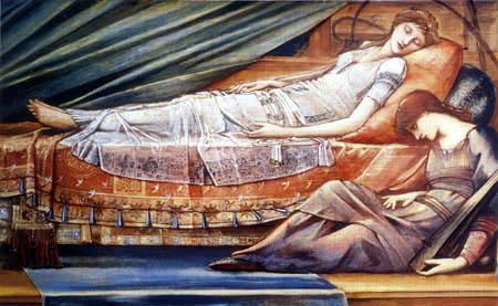 Sir Edward Burne-Jones - La Bella durmiente