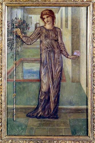 Sir Edward Burne-Jones - The Garland