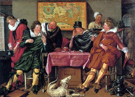 Willem Pietersz. Buytewech - A happy company