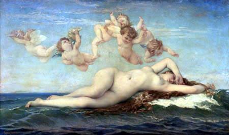Alexandre Cabanel - Die Geburt der Venus