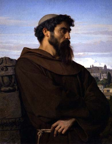 Alexandre Cabanel - The Roman Monk