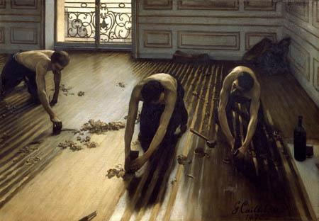 Gustave Caillebotte - Die Parketthobler