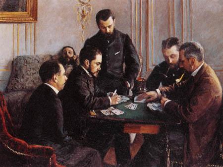 Gustave Caillebotte - Juego de cartas