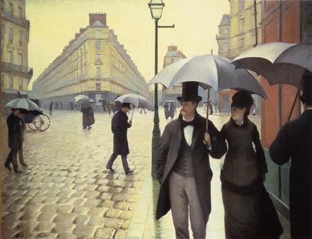Gustave Caillebotte - Regentag