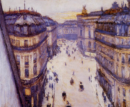 Gustave Caillebotte - Rue Halevy, Paris