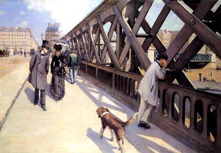 Gustave Caillebotte - The European bridge