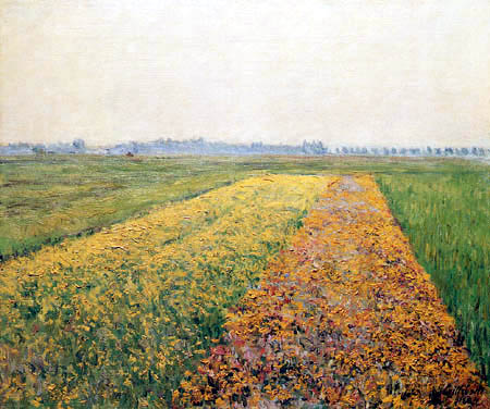 Gustave Caillebotte - La llanura de Gennevilliers
